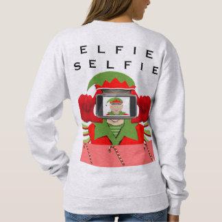 Elfie Selfie Sweatshirt