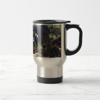 Elfin Saddle Mushroom Travel Mug