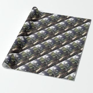Elfin Saddle Mushroom Wrapping Paper