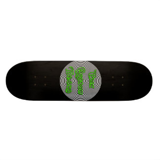 elia spiral logo deck 21.6 cm skateboard deck