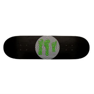 elia spiral logo deck skateboard