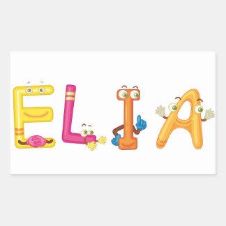 Elia Sticker