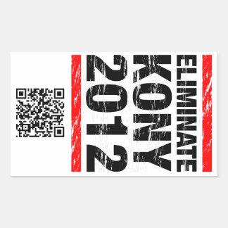 Eliminate Kony 2012 Sticker