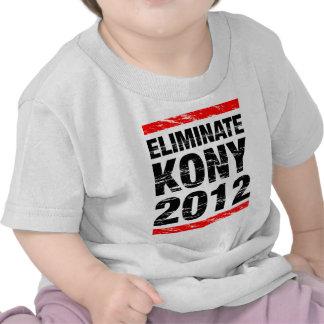 Eliminate Kony 2012 Shirts