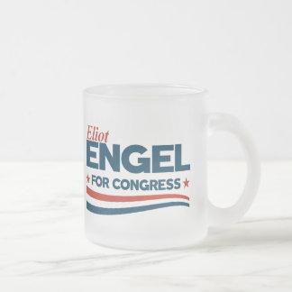 Eliot Engel Frosted Glass Coffee Mug