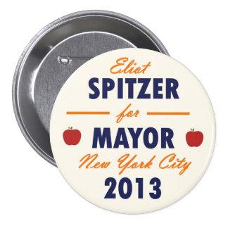 Eliot Spitzer for NYC Mayor 2013 7.5 Cm Round Badge