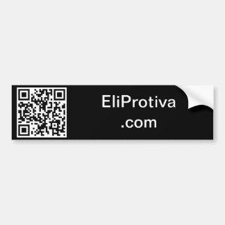 EliProtiva com Bumper Sticker