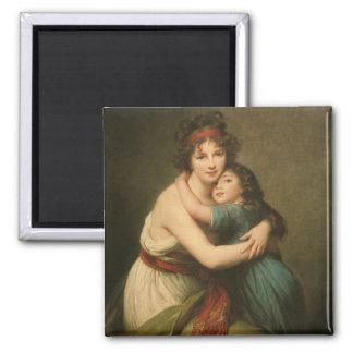 Elisabeth and Her Daughter Magnet