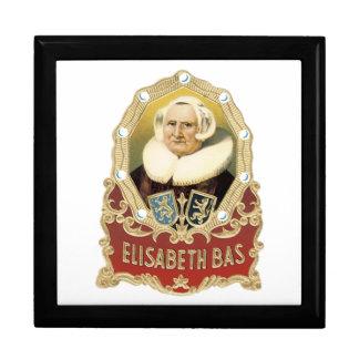 Elisabeth Bas Cigar Label Large Square Gift Box