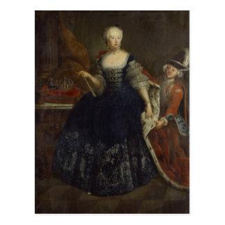 Elisabeth Christine von Braunschweig as Queen Postcard