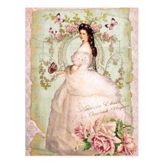 Elisabeth of Bavaria and Empress of Austria Sissi Postcard