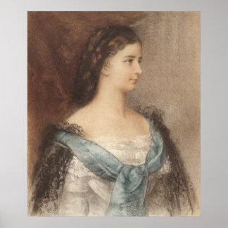 Elisabeth of Bavaria - Empress Sisi - Hapsburgs Poster