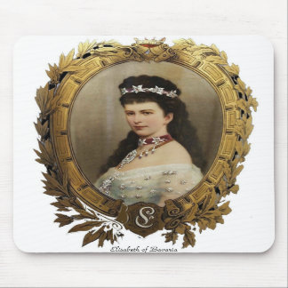 Elisabeth of Bavaria Mousepad