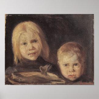 Elise und S°ren by Anna Ancher Posters