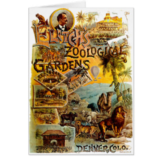 Elitch's Zoo - Card