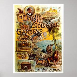 Elitch's Zoo - Print
