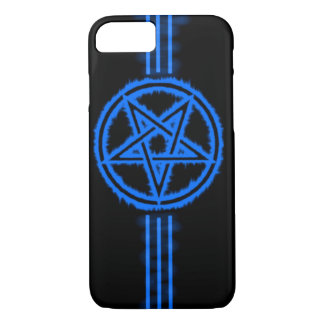 Elite Blue Devil Pentagram iPhone 7 Case