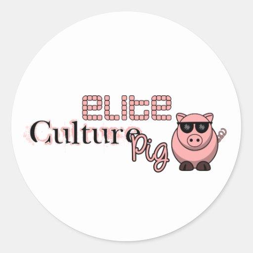 Elite Culture Pig Sticker