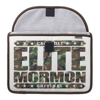 ELITE MORMON - I'm Latter-day Saint Church Warrior MacBook Pro Sleeves