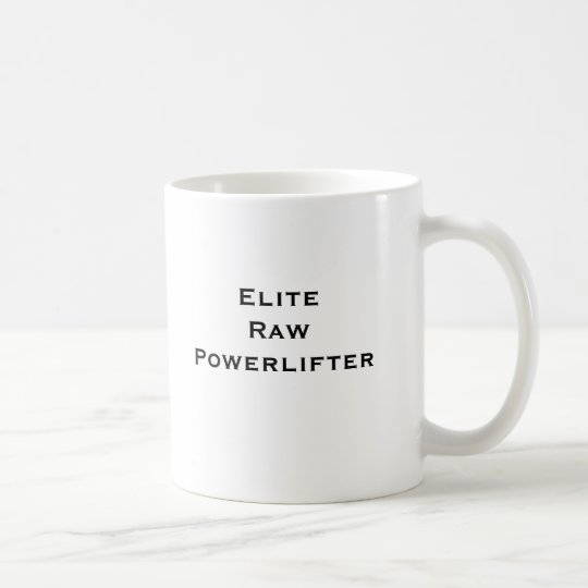 Elite Coffee Coffee Raw Elite Raw Powerlifter Powerlifter Mug Elite Raw Mug BQrCxeWdo