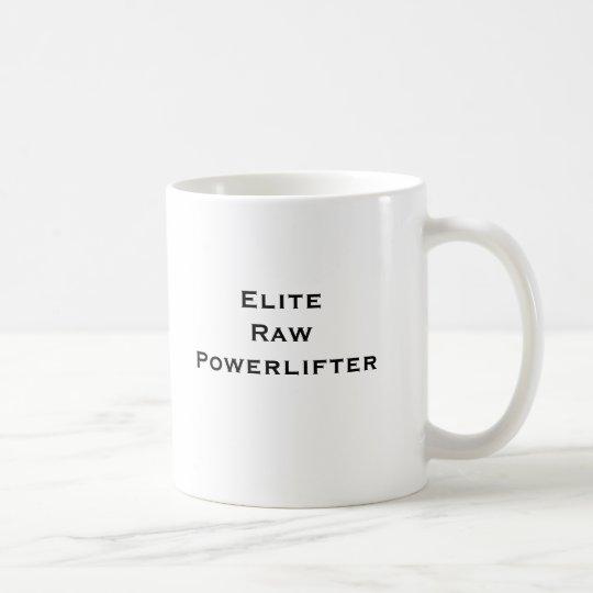 Elite Coffee Coffee Raw Elite Raw Powerlifter Powerlifter Mug Elite Raw Mug BQrCxeWdo
