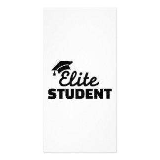 Elite Student graduation Photo Greeting Card
