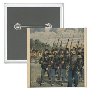 Elite troops of French army Button