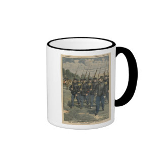 Elite troops of French army Ringer Mug