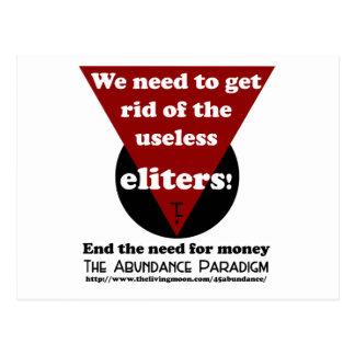 Eliters Logo Products Postcard