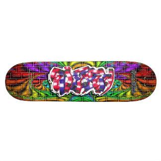 Elizabeth 03 Custom Graffiti Art Pro Skateboard