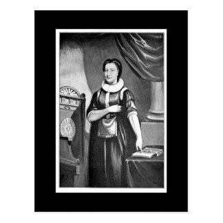 Elizabeth Aldworth, Female Freemason Postcard