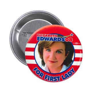 Elizabeth Edwards - Button