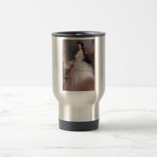 Elizabeth , Empress of Austria, 1865 Travel Mug