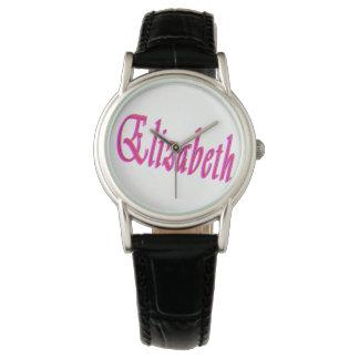 Elizabeth Girls Name Logo, Watch
