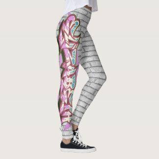 Elizabeth Graffiti Wall Leggings