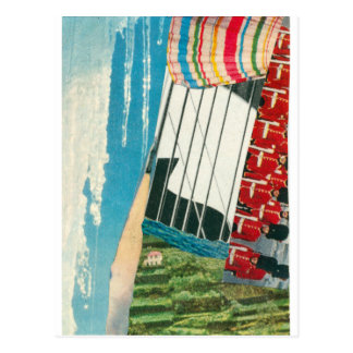 "Elizabeth Howard Abstract ""Ebb & Flow"" Postcard"