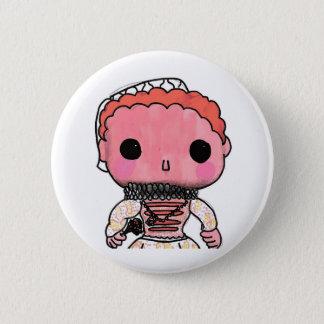 Elizabeth I - Funko Style 6 Cm Round Badge