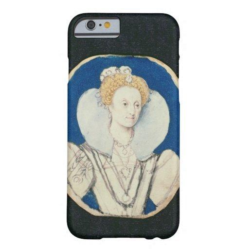 Elizabeth I, miniature portrait, (unfinished) iPhone 6 Case