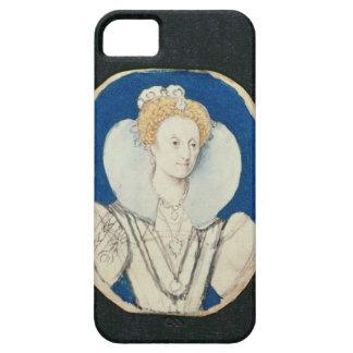 Elizabeth I, miniature portrait, (unfinished) Case For The iPhone 5