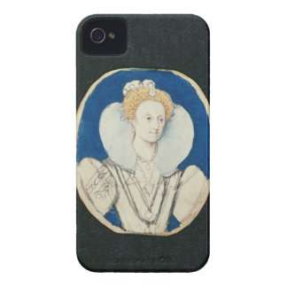 Elizabeth I, miniature portrait, (unfinished) iPhone 4 Case-Mate Cases