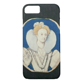 Elizabeth I, miniature portrait, (unfinished) iPhone 7 Case