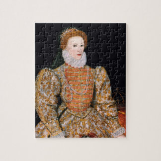 "Elizabeth I of England (The ""Darnley Portrait"") Jigsaw Puzzle"