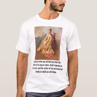 Elizabeth II, I declare before you all that my ... T-Shirt