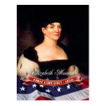 Elizabeth Monroe, First Lady of the U.S. Postcard