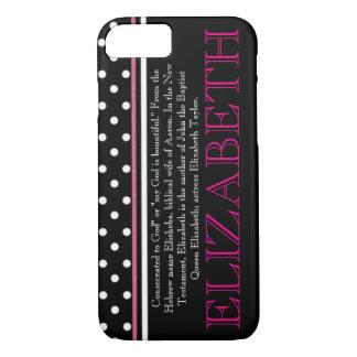 """ELIZABETH"" Name/Meaning iPhone 7 CASE"