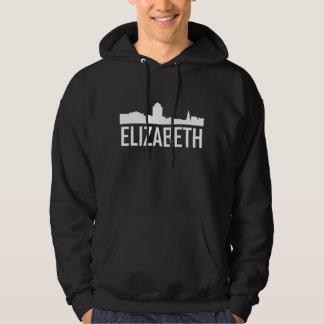 Elizabeth New Jersey City Skyline Hoodie