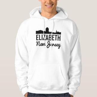 Elizabeth New Jersey Skyline Hoodie