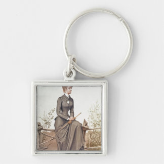 Elizabeth of Bavaria Key Ring