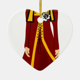 Elizabeth of York Ceramic Ornament