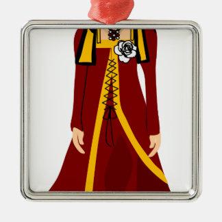 Elizabeth of York Metal Ornament